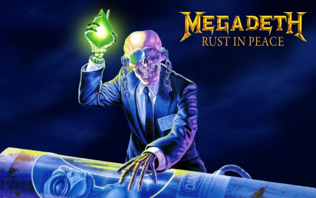 Megadeth Rust in Peace Album Art